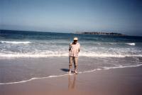 dad goolwa beach