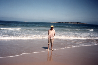 dad goolwa beach